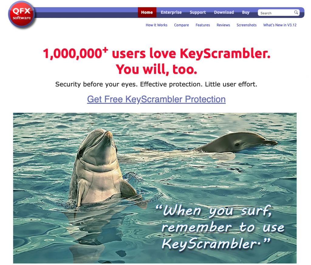 keyscrambler qfx