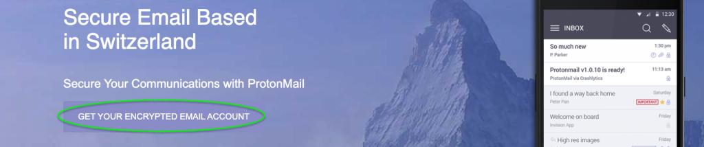 protonmail screen 1